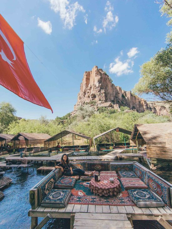 cappadocia restaurant on the river