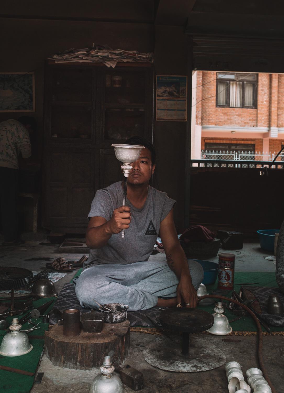 silversmith kathmandu patan