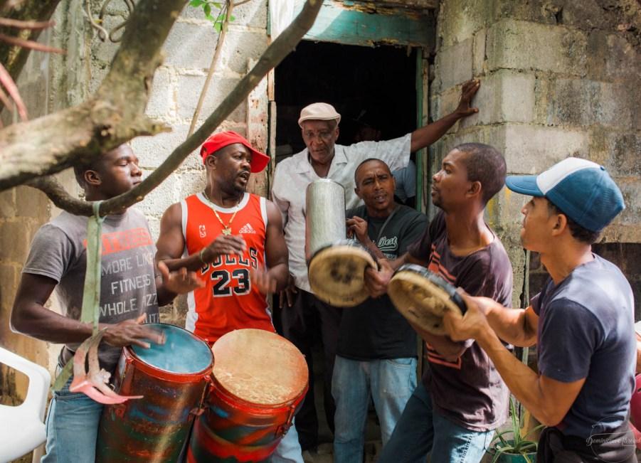Fiesta de palo republica dominicana