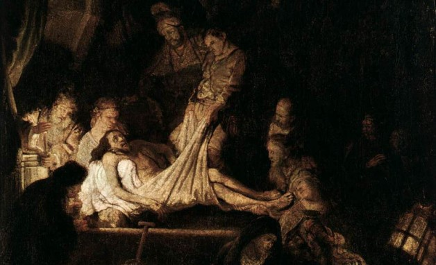 Rembrandt, The Entombment