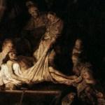Rembrandt, The Entombment