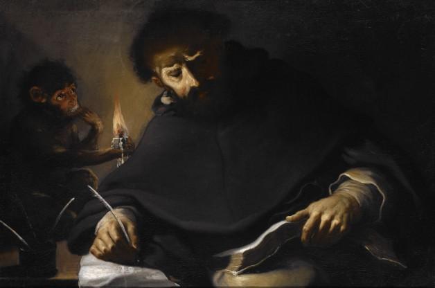 Pietro della Vecchia, St. Dominic and the Devil