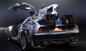 JMortonPhoto.com & OtoGodfrey.com, Back to the Future DeLorean Time Machine (CC BY-SA 4.0)