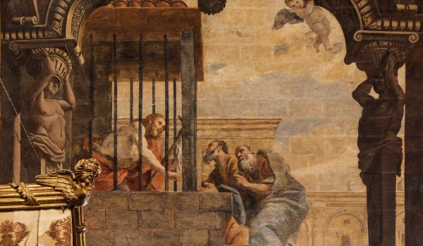St John the Baptist imprisoned
