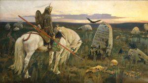 Viktor Vasnetsov, The Knight At The Crossroads
