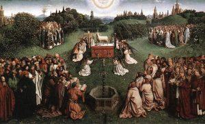 Image: Jan van Eyck, Adoration of the Lamb