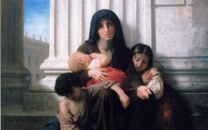 Adolphe-William Bouguereau, Charity.