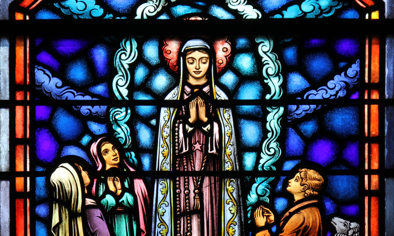 Fr. Lawrence Lew, O.P., Apparition of Our Lady of Fatima (used with permission)