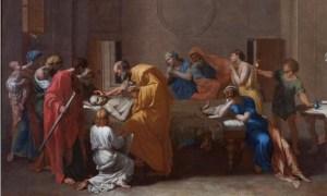 Image: Nicolas Poussin, L'Extrême Onction, Les Sept sacrements.