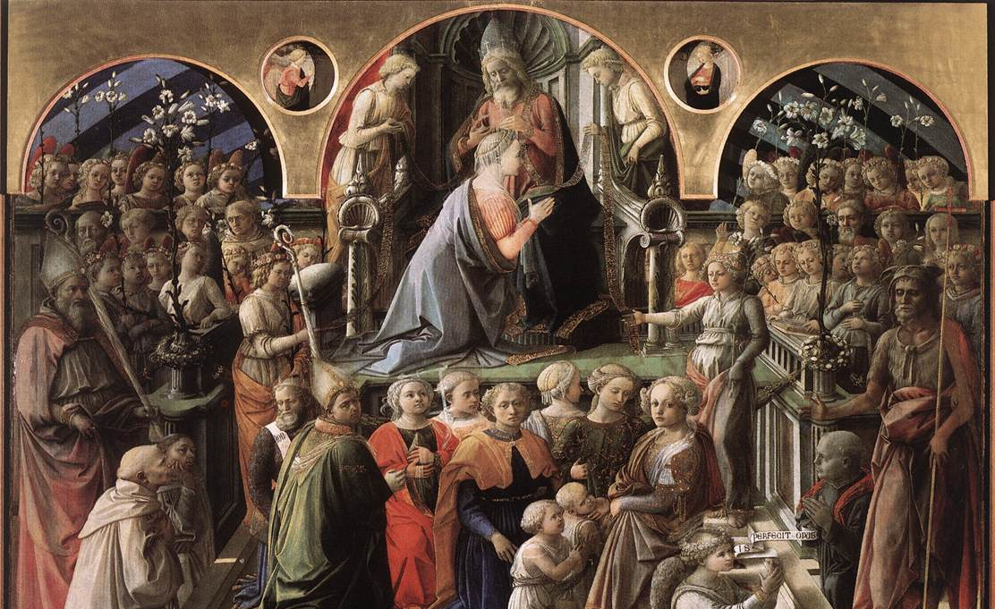 Fra Filippo Lippi, The Coronation of the Virgin.