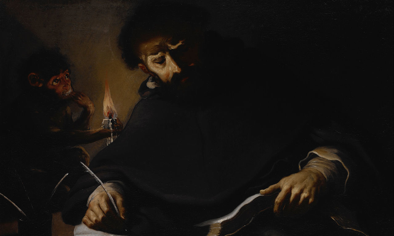 Pietro della Vecchia, St. Dominic and the Devil