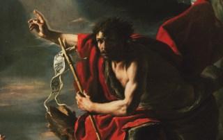 Mattia Preti, St. John the Baptist Preaching