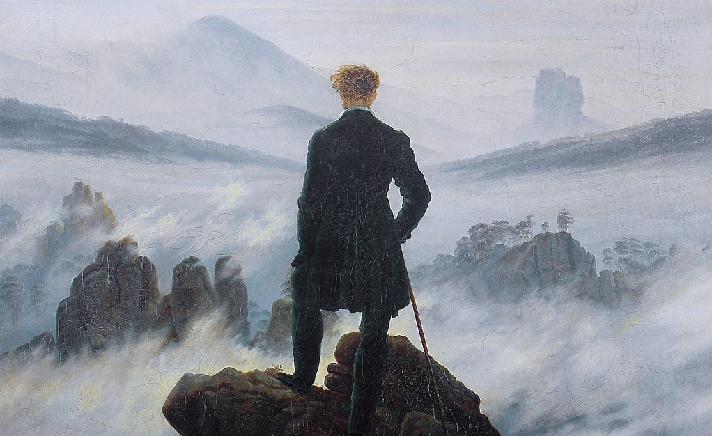 Caspar David Friedrich, Wanderer Above the Sea of Fog.