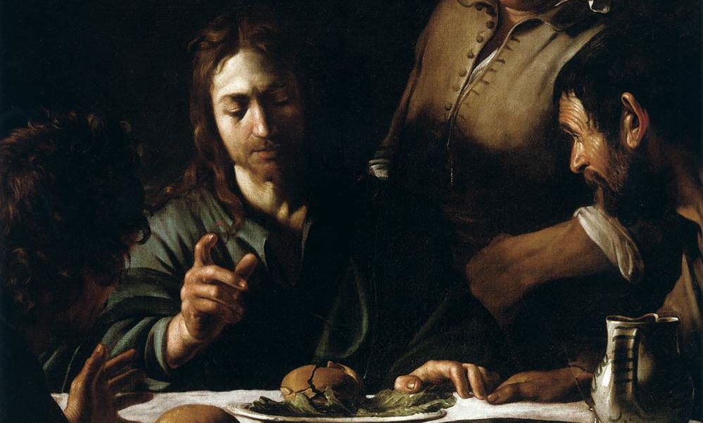 Carravagio, Supper at Emmaus