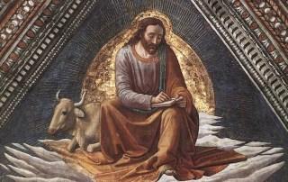 Image: Domenico Ghirlandaio, St. Luke.