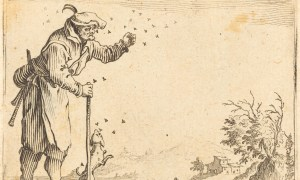 Jacques Callot, Peasant Attacked by Bees