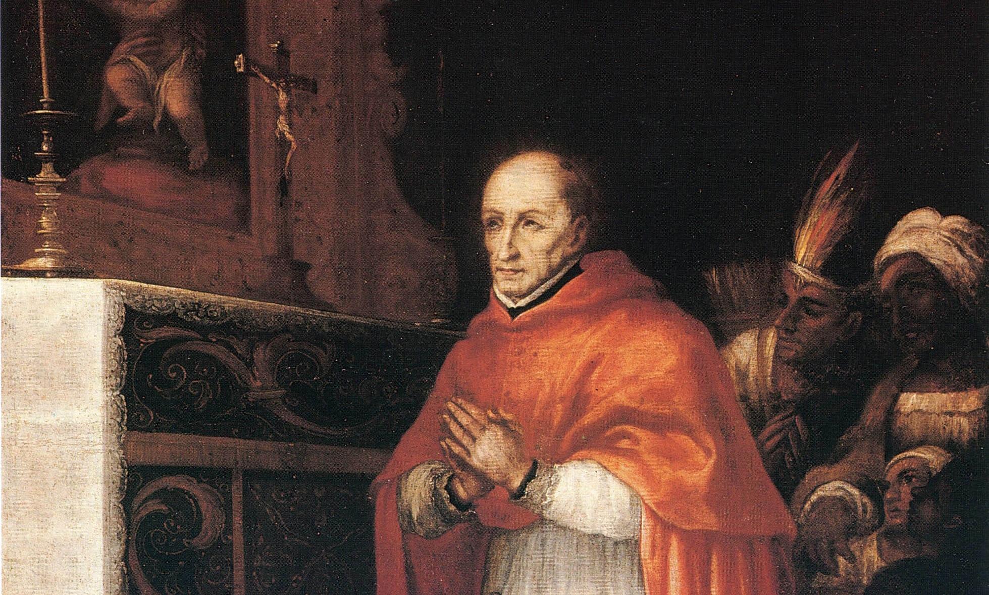 Saint Toribio Alfonso de Mogrovejo, Archbishop of Lima, Museo Nacional de Bellas Artes