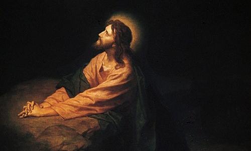 Heinrich Hofmann, Christ in Gethsemane