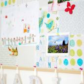 Fabric-Covered Bulletin Board