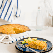 Potato, Zucchini and Cheese Casserole