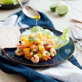 Shrimp and Mango Ceviche Salad – Denmark Summer