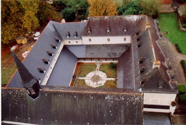 Monastery seen from above