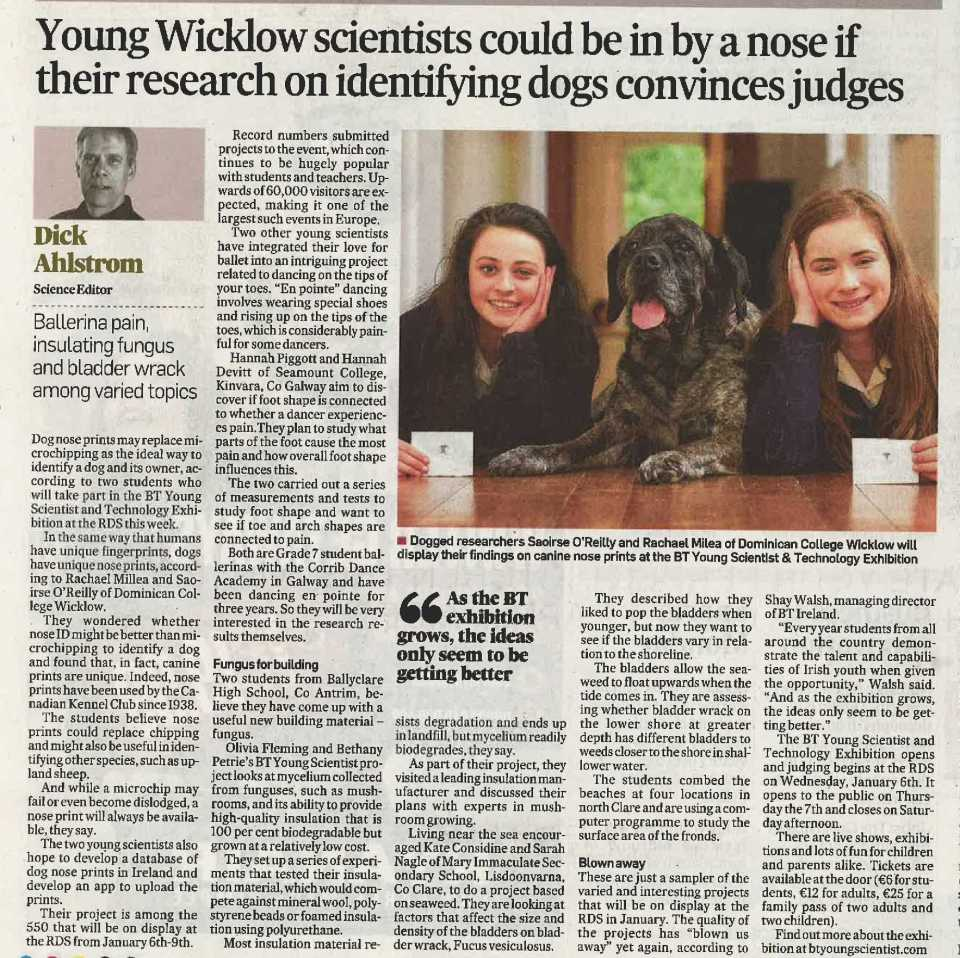Young Wicklow Scientists