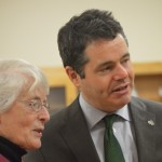 Minister Paschal Donohoe with Sr. Ruth Pilkington
