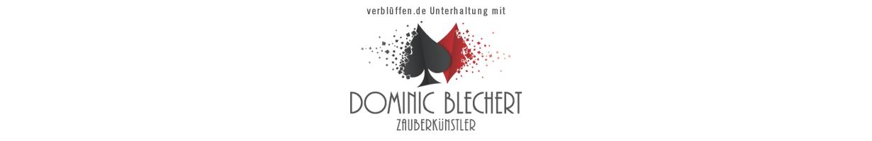 Logo mit Slogan von Dominic Blechert