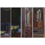Liverpool cathedral tryptic, Anglican and Metropolitan cathedrals