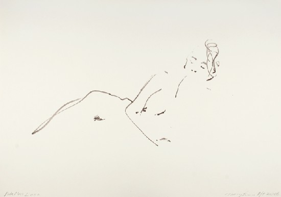 Kate Signed  by Tracey Emin
