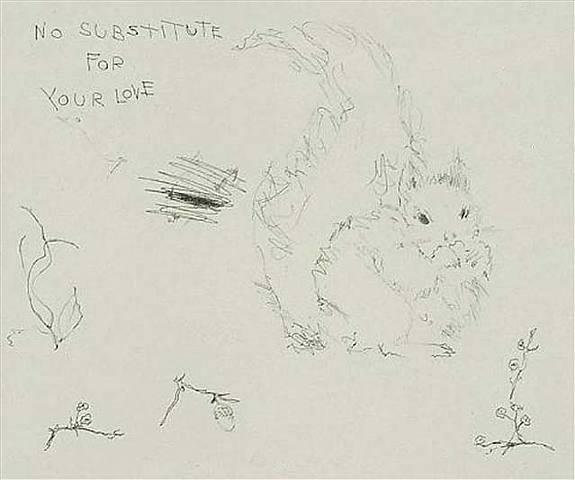 No Substitute for your love Signed  by Tracey Emin