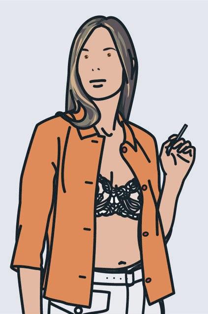 Ruth Smoking