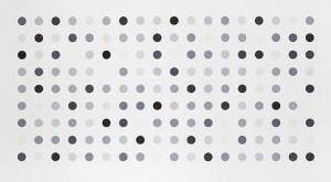 Diacetoxyscirpenol (spot print) Signed  by Damien Hirst