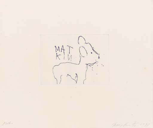 Matkin Signed  by Tracey Emin