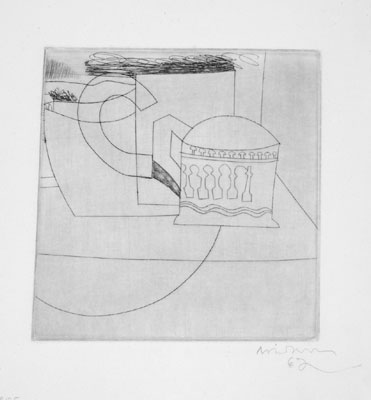Small Still Life Signed  by Ben Nicholson