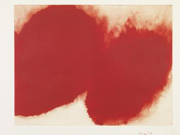 12 Etchings - Untitled 11 Signed  by Anish Kapoor