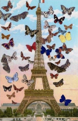 Eiffel Tower Signed  by Peter Blake