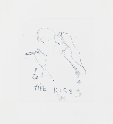 The Kiss Signed  by Tracey Emin