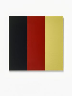 Schwarz-Rot-Gold IV 2015 Signed  by Gerhard Richter