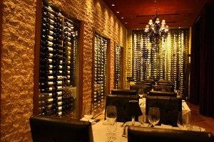 Dominick's Steakhouse wine