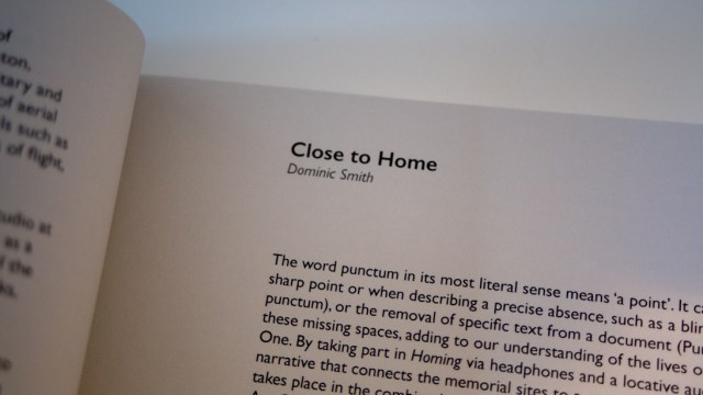 Close to Home - Homing