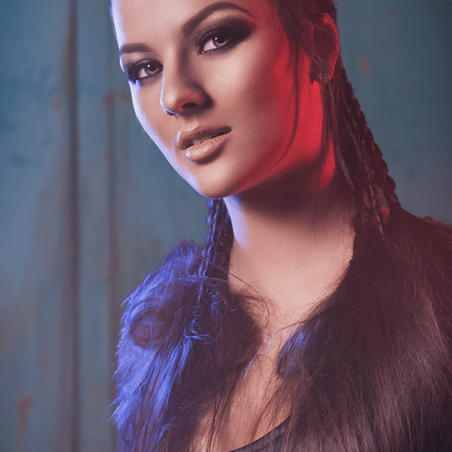 Rilana - Beauty Photography at my studio in Trier