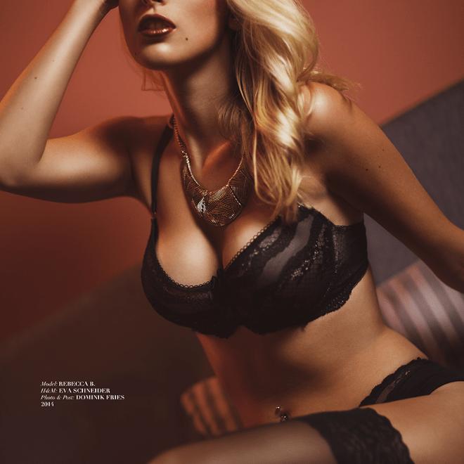 Model: REBECCA B. - H&M: EVA SCHNEIDER - Photo & Post: DOMINIK FRIES - 2014