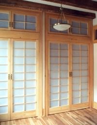 Shoji Closet Doors - Dominik Back Custom Woodwork