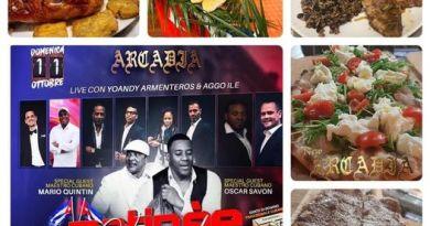 Arcadia Disco Pub, incassa la Domenica Cubana a Roma