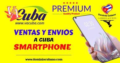 Enviar celular a Cuba