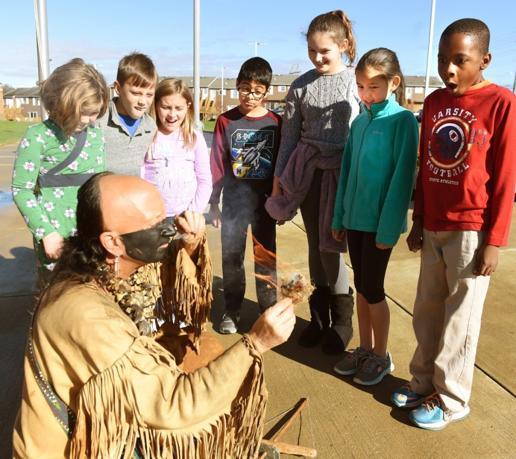Suncrest Elementary Students Learn About Tools Of The Past