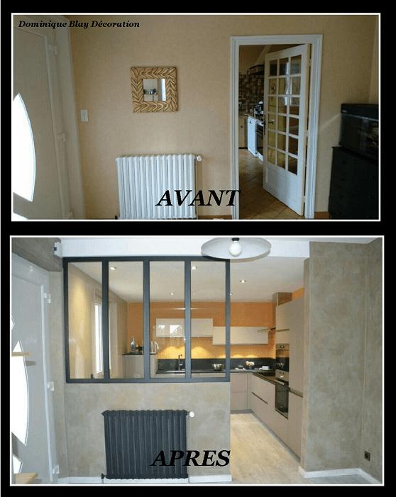 Espace cuisine esprit atelier/loft | Dominique Blay Décoration
