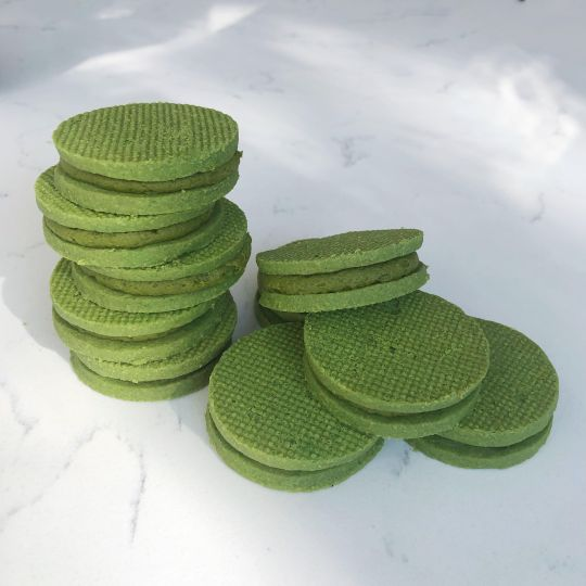 Matcha Shortbread Cookies new